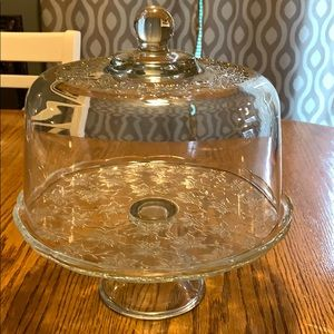 Princess house fantasia cake stand/punch bowl